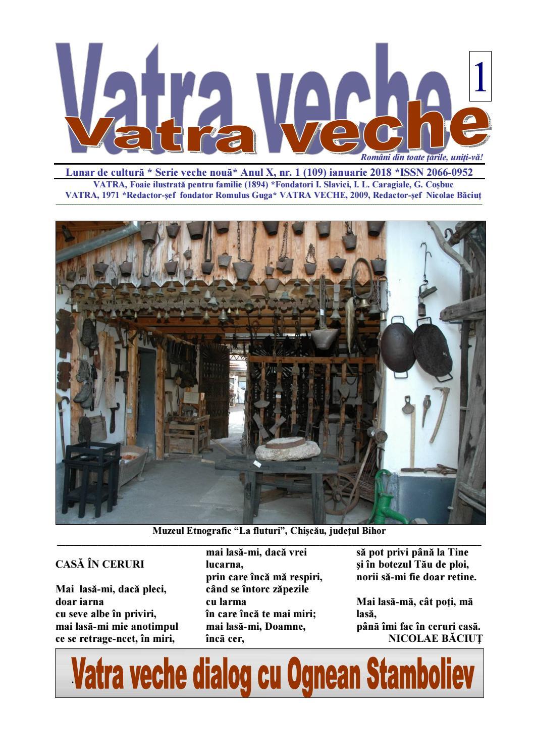 Vatra Veche 12018 By Hopernicus Issuu