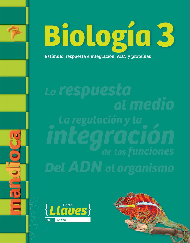 Llaves Biología 3 - Recorré el libro by Mandioca - issuu