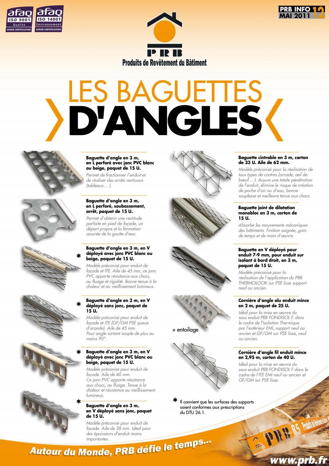 Moulure moul/ée d/écorative moderne 42 x 50 mm Blanc L/ég/èrement stables 20 m Baguettes en polystyr/ène E-31