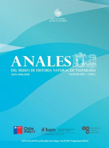 Anales del Museo Vol 30, 2017 by Revistas Científicas ~ Museo de ...