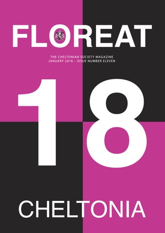 Floreat 2018 by Cheltenham College - issuu f490c924e6776