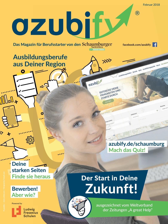 azubify Schaumburg | Februar 2018 by Schaumburger Nachrichten  Verlagsgesellschaft mbH & Co.KG - issuu