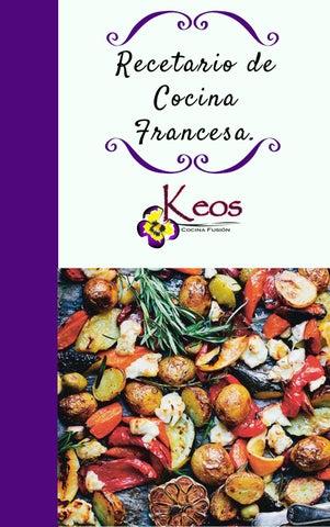 Recetario De Cocina.Recetario De Cocina Francesa 5 By Cris Salazar Issuu