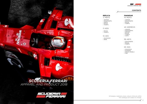 6862ebe0d2bb Scuderia ferrari catalogue 2018 by Impo Exporta - issuu