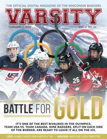 42e4af42ffd Varsity Magazine - February 7, 2018 by Wisconsin Badgers - issuu