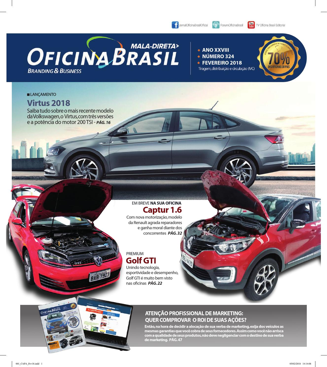 Mala Direta Oficina Brasil Fevereiro 2018 By Oficina Brasil Issuu