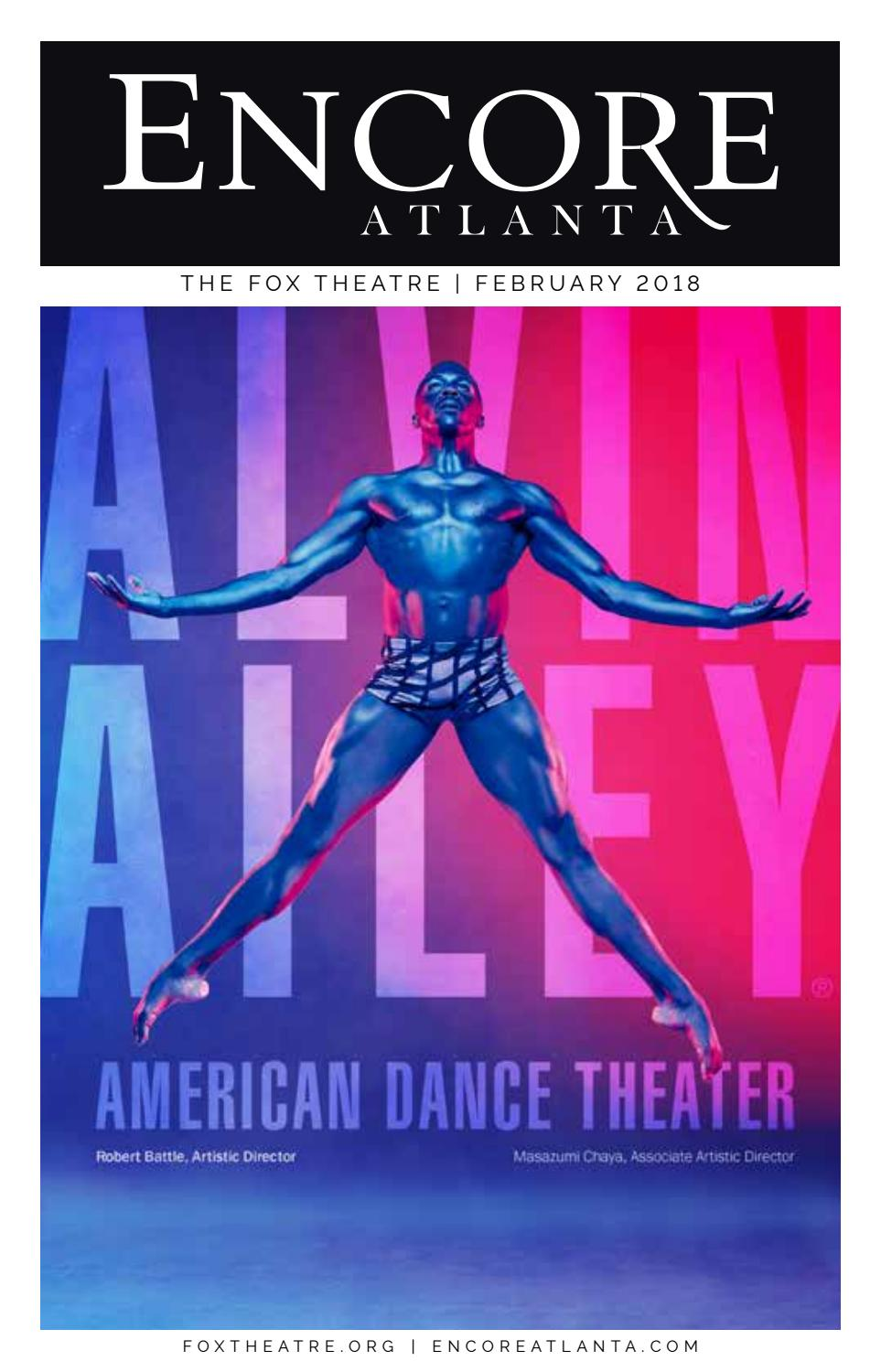 FOX ENCORE :: FEBRUARY 2018 :: ALVIN AILEY AMERICAN DANCE THEATER by