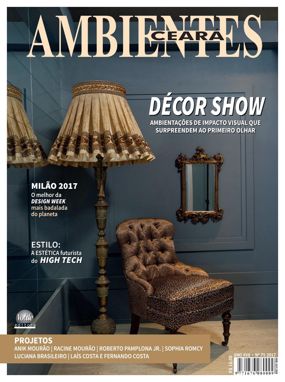 8d8e9d778596d Ambientes arquitetura edição 75 by REVISTA AMBIENTES - issuu