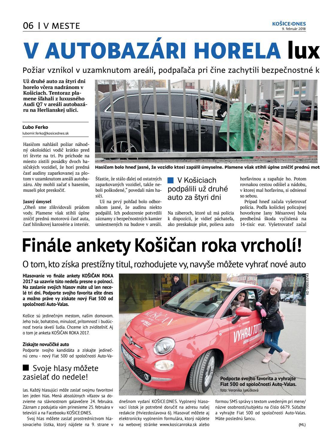 b1e85dfd3 KOŠICE:DNES 9.2.2018 by KOŠICE:DNES - issuu