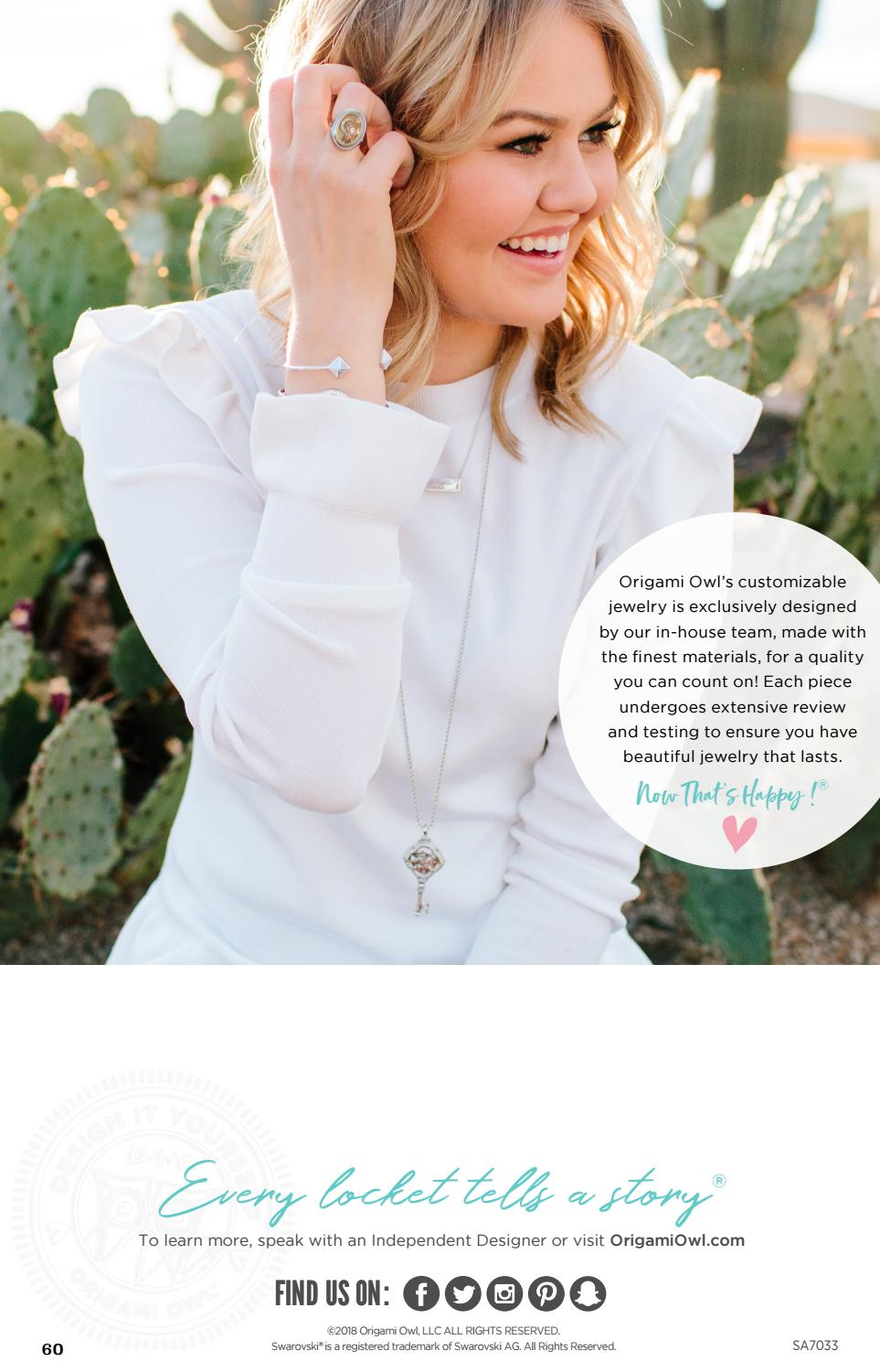 Origami Owl Review: Breast Cancer Awareness Locket | 1500x963