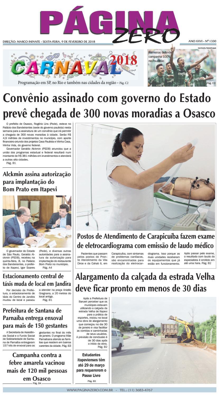 Página Zero Edição nº 1330 (09 02 2018) by Para acessar o seu Página Zero -  issuu c4a2272cff