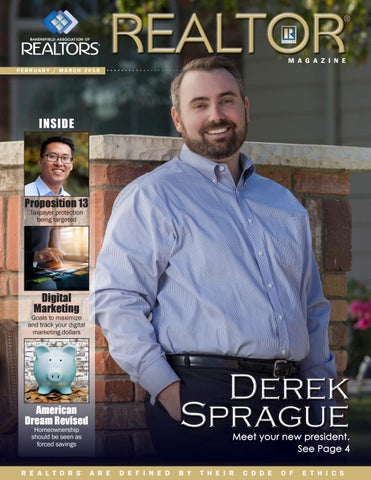 bakersfieldrealtor org REALTOR Magazine February March 2018 by Bakersfield Association of ...