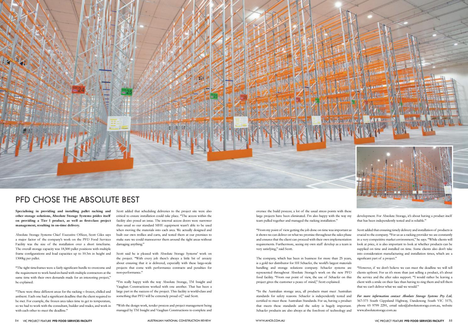 PFD Chose the Absolute Best by Scott Giles - issuu