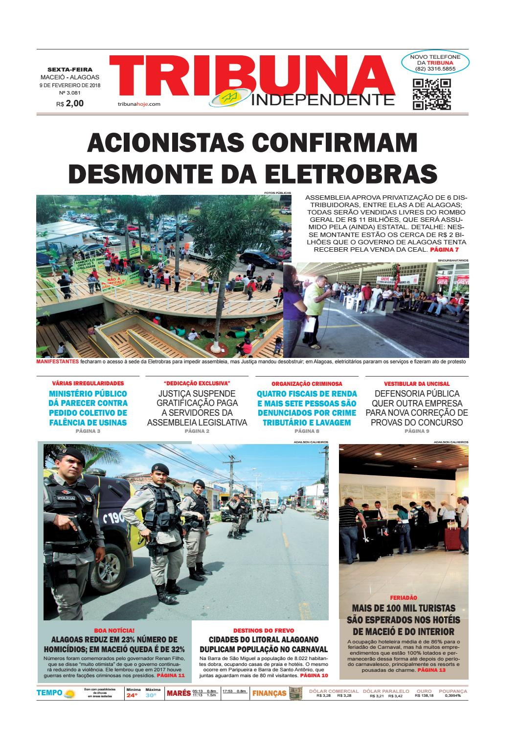 447e717d87c Edição número 3081 - 9 de fevereiro de 2018 by Tribuna Hoje - issuu