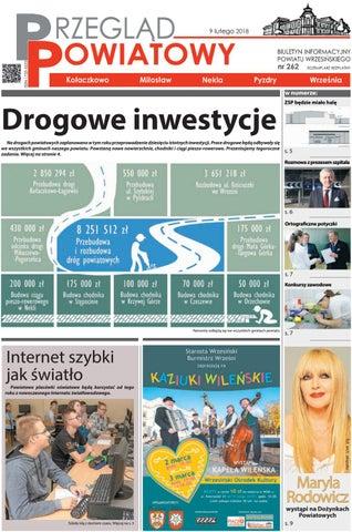 Przegląd Powiatowy Nr 262 Luty 2018 By Starostwo Powiatowe We