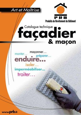 2015 Prb Facadier Bd By Bigmatfrance Issuu