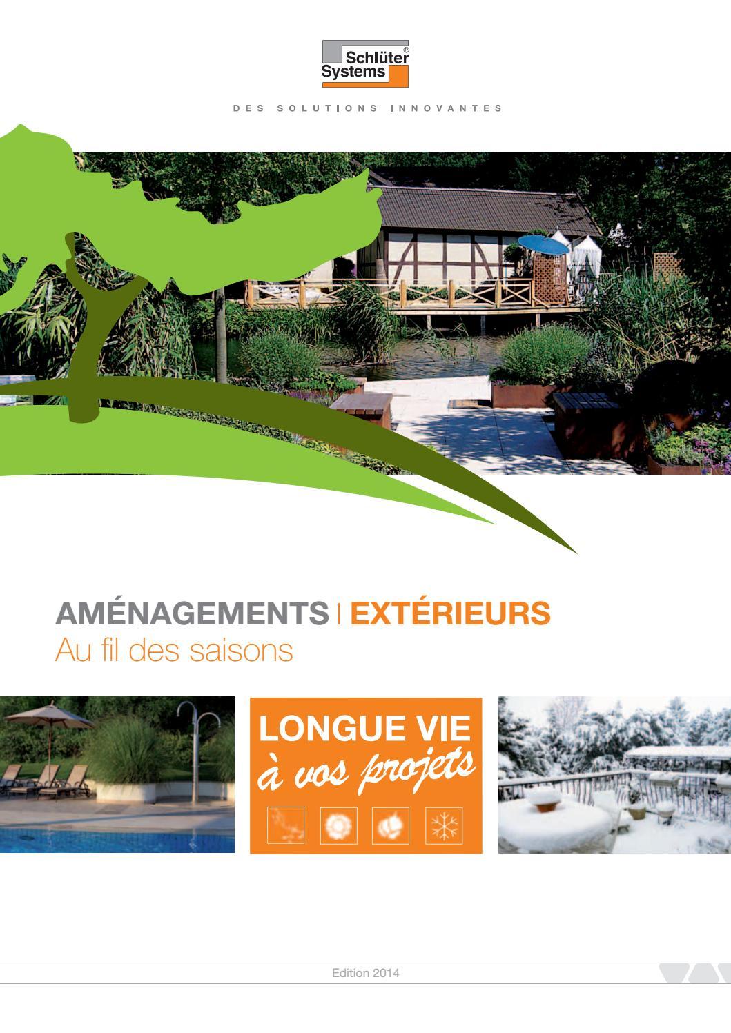 Natte Drainante Sous Carrelage Extérieur guideamenagementsexterieurs2014schluter-systems