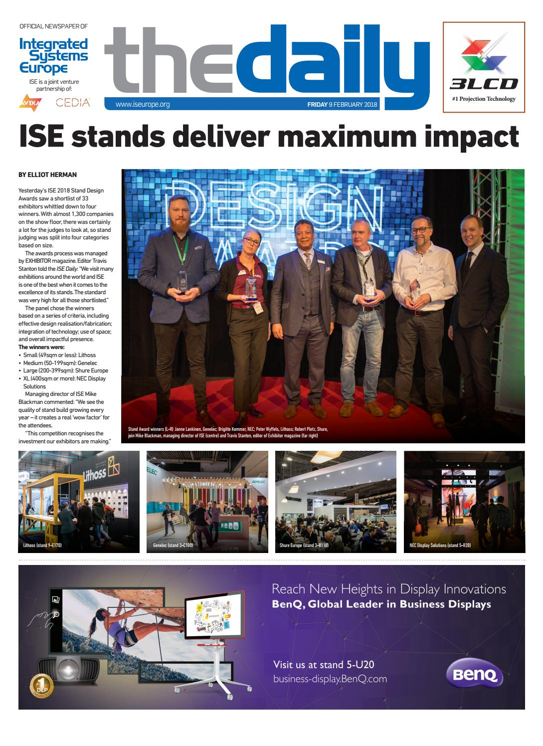 ISE Daily Friday 09 February 2018 by Future PLC - issuu