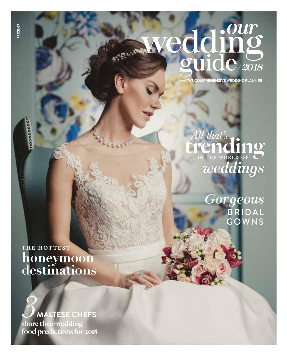 91d0cad3b7c7 Our Wedding Guide 2018 by Content House Group - issuu