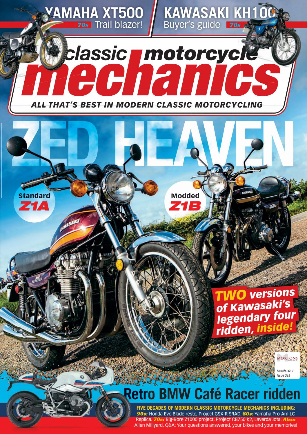 Classic Motorcycle Mechanics March 2018 By Mortons Media Group Ltd   Issuu