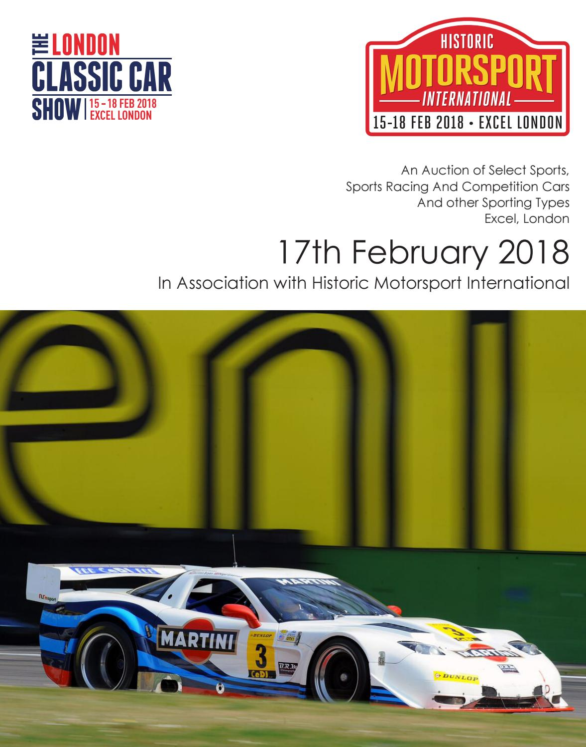 coys at historic motorsport international by coys issuu
