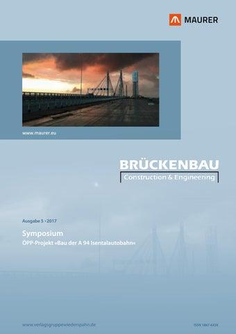 Brueckenbau 5/2017 by Verlagsgruppe Wiederspahn - issuu
