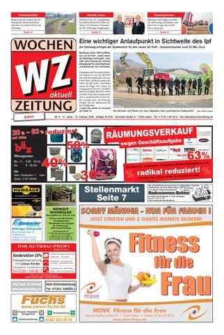 Wochenzeitung Aalen Kw 0618 By Wochenzeitung Sonntagszeitung Issuu