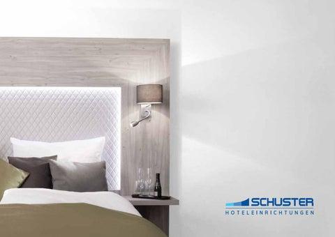 Prospekt Schuster Hoteleinrichtungen 2018 By Hoteleinrichtungen