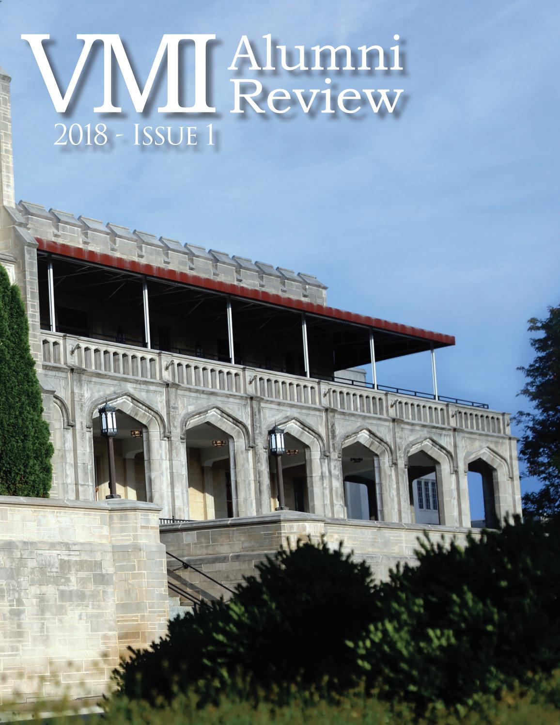 2f501ebc4399 2018-Issue 1 Alumni Review by VMI Alumni Agencies - issuu