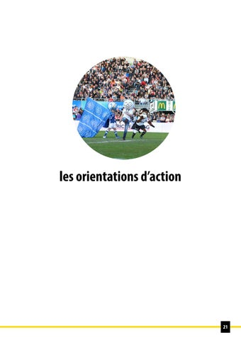 Page 21 of les orientations d'actions