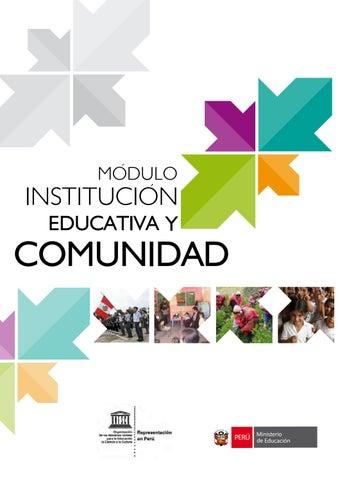 Institucion Educativa Y Comunidad By Nicolas Trasmonte