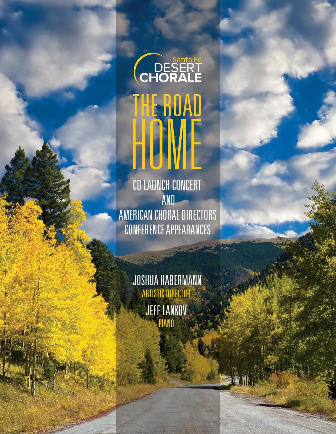 Santa Fe Desert Chorale CD Launch Program by DesertChorale - issuu