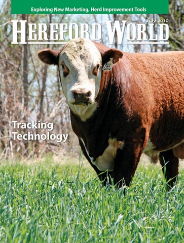 July 2010 Hereford World by American Hereford Association and ...