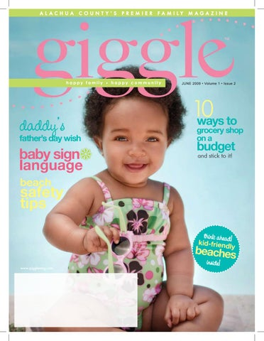Giggle magazine june 2009