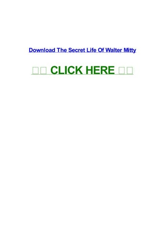 the secret life of walter mitty free download in 480p