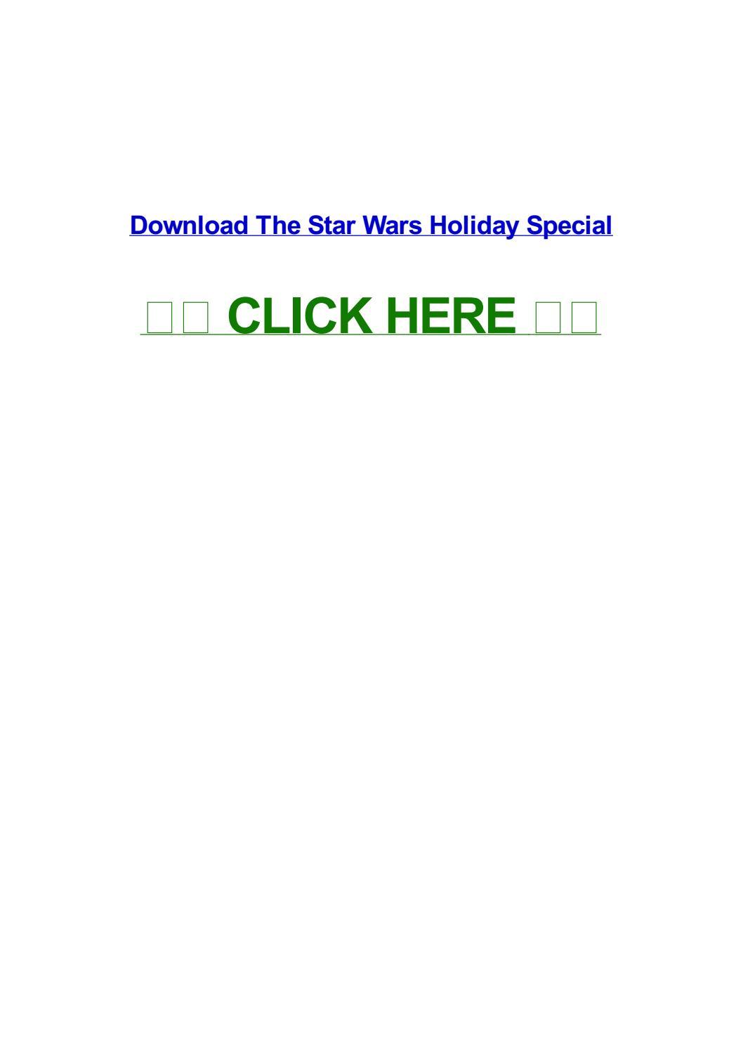 the star wars holiday special download legendado
