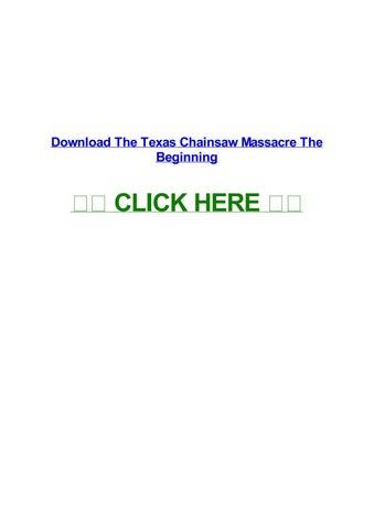 stream texas chainsaw massacre putlocker