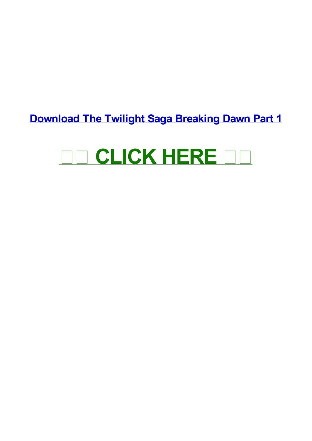 twilight breaking dawn part 1 qvod