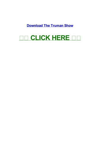 the truman show english subtitles