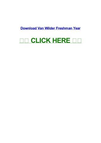 Van wilder freshman year yts