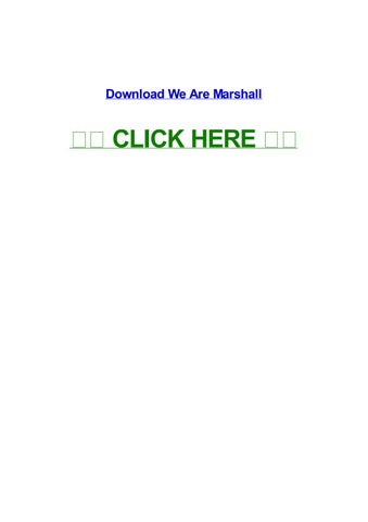 Free download we are marshall hd movie wallpaper #6.