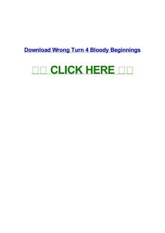 wrong turn 6 full movie in hindi free download utorrent kickass