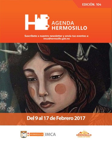 "Cover of ""Agenda Hermosillo 09 feb 2018"""