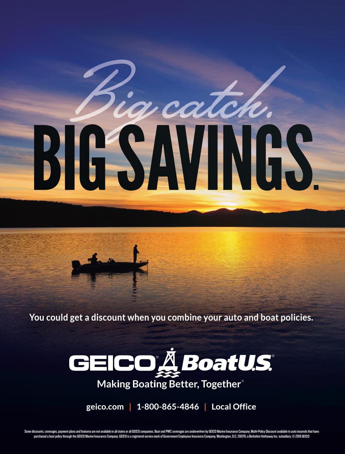 Geico Marine Insurance >> Tn Fishing Guide 2018 2019 By Bingham Group Issuu