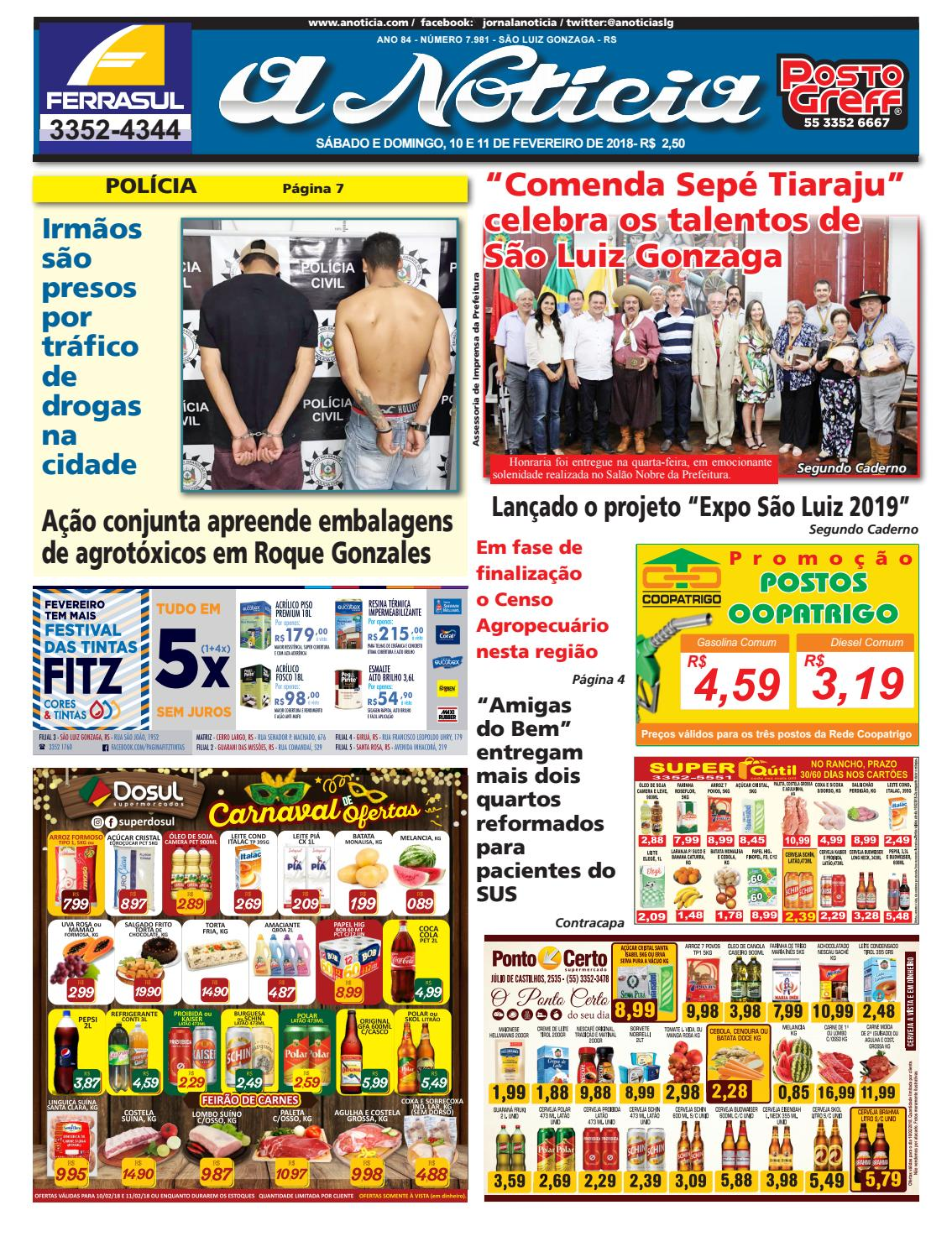 Edição de 10 e 11 de fevereiro de 2018 by Jornal A Notícia - issuu 593febd85dd1d