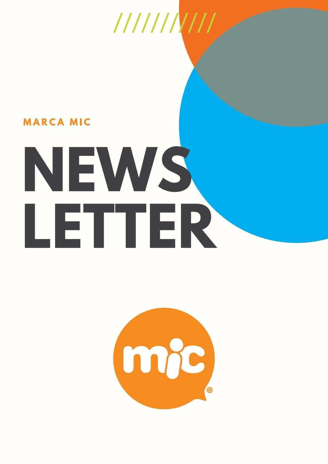 Newsletter mic by MIC Ponemos la Fantasía - issuu a93137be4566c