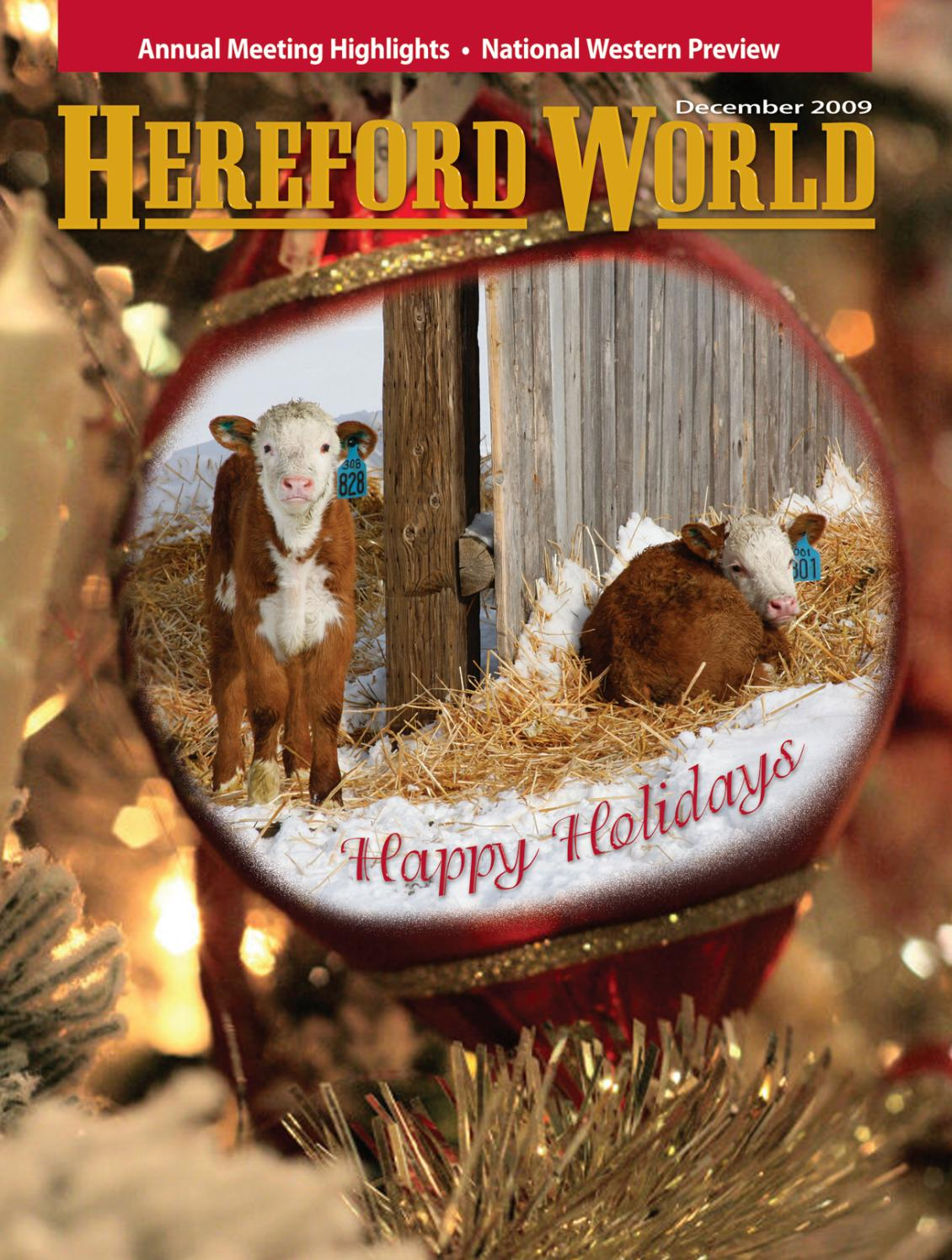 December 2009 Hereford World by American Hereford Association and ...
