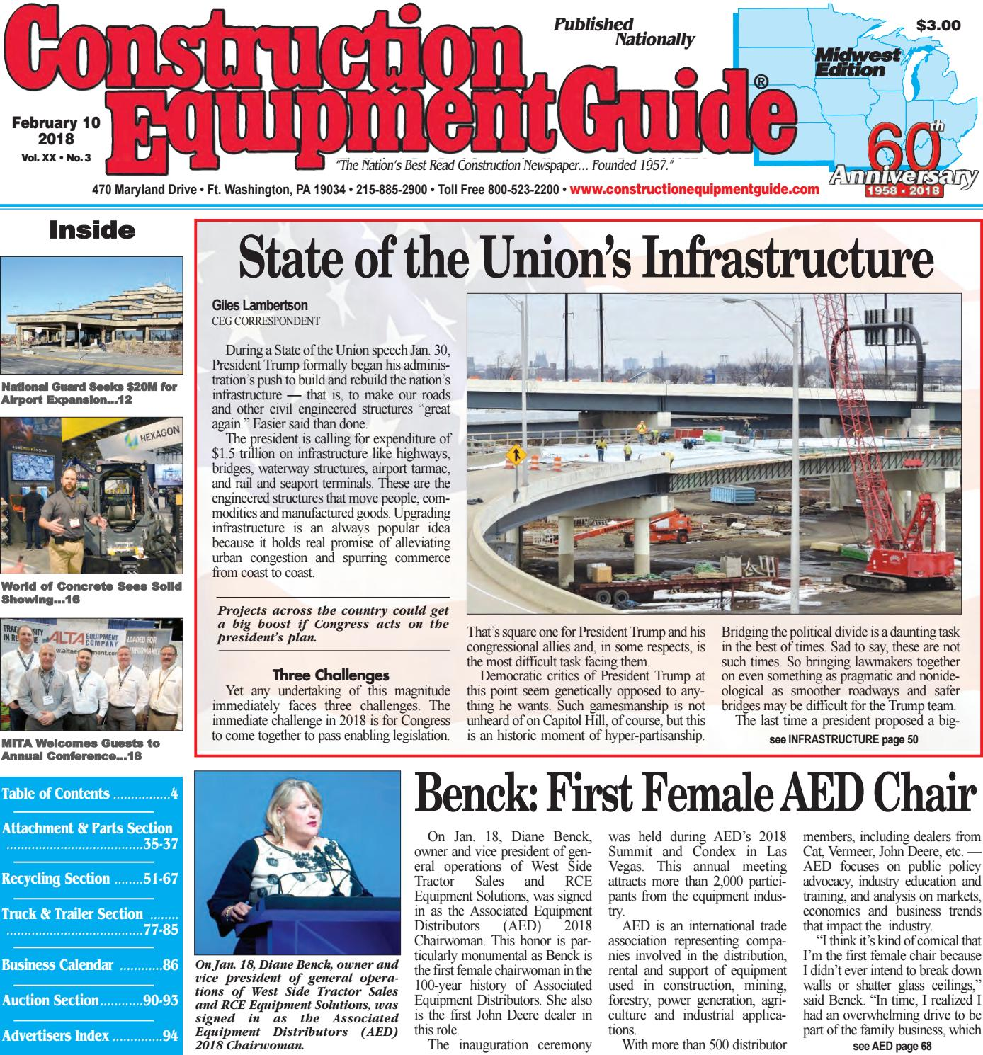 Midwest 3 Feb 10 2018 By Construction Equipment Guide Issuu Electrical Gt Circuit Breakers Square D 60173 Breaker Multi