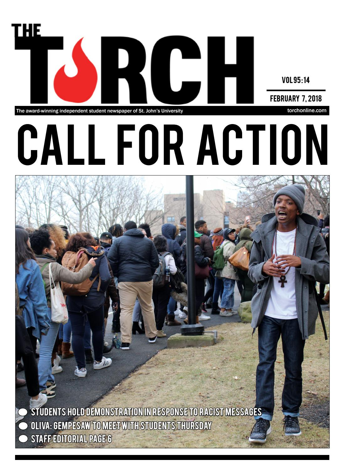 Volume 95 Issue 14 By The Torch Issuu