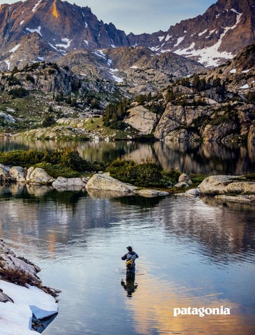 2a9b47b6d292a Patagonia Fly Fishing Spring 2018 by Patagonia - The Cleanest Line ...